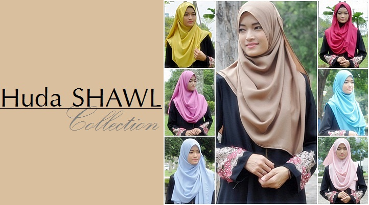 Huda SHAWL Collection