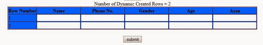 Create Dynamic Rows in ASP.Net GridView Control with TextBoxes