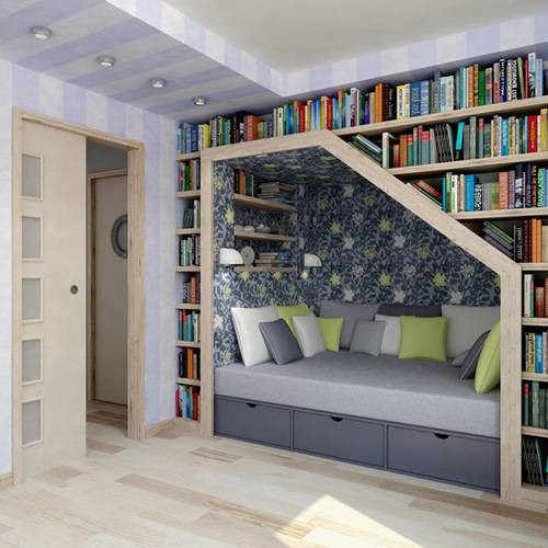 Reading Nooks Ideas: Good Style: Perfect Little Reading Nooks