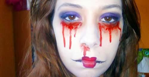 maquillaje de novia cadaver por marta rodriguez