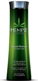 Hempz Natural Bronzer Tan Maximizer Reviews
