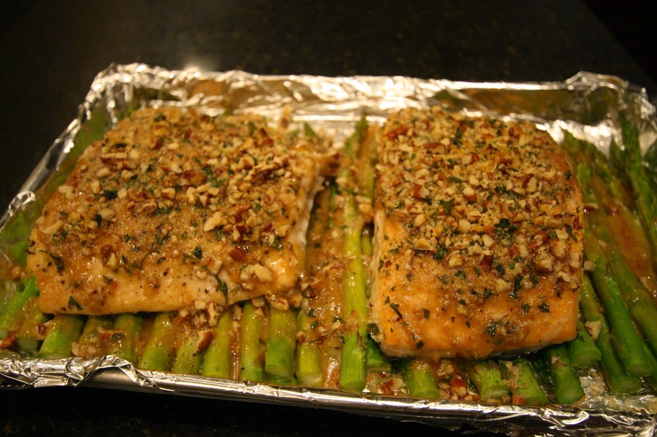 The Roediger House: Meal No. 1215: Baked Dijon Salmon