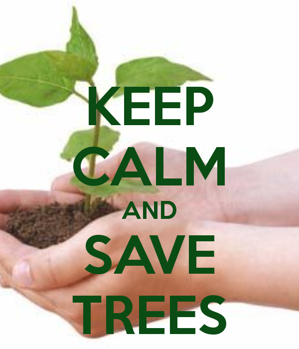 Save Trees!!! And Plan...