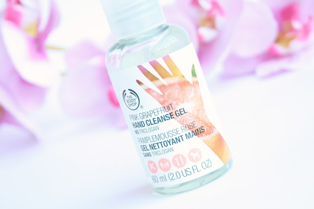 The Body Shop Pink Grapefruit Hand Cleanse Gel