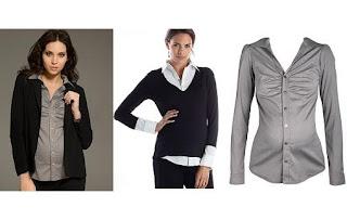 pakaian kantor modis untuk bumil