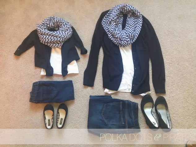 Maddies Outfit Scarf From Amazon Black Sweater By Cherokee Target White Tank Skinnies Genuine Kids At