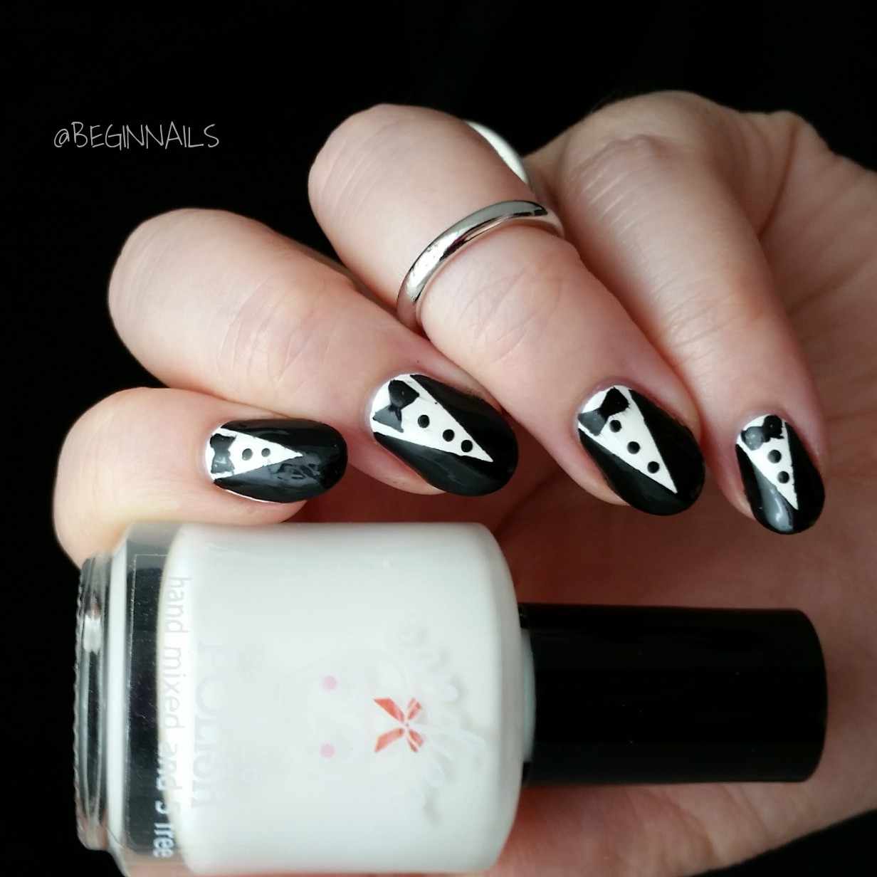 Let\'s Begin Nails: Cuticula Scented Liquid Nail Tape Review