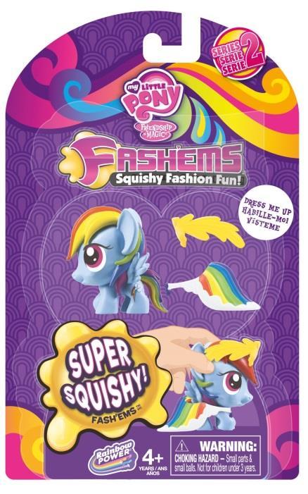 MLP Fashems Series 2 Fashion Rainbow Dash