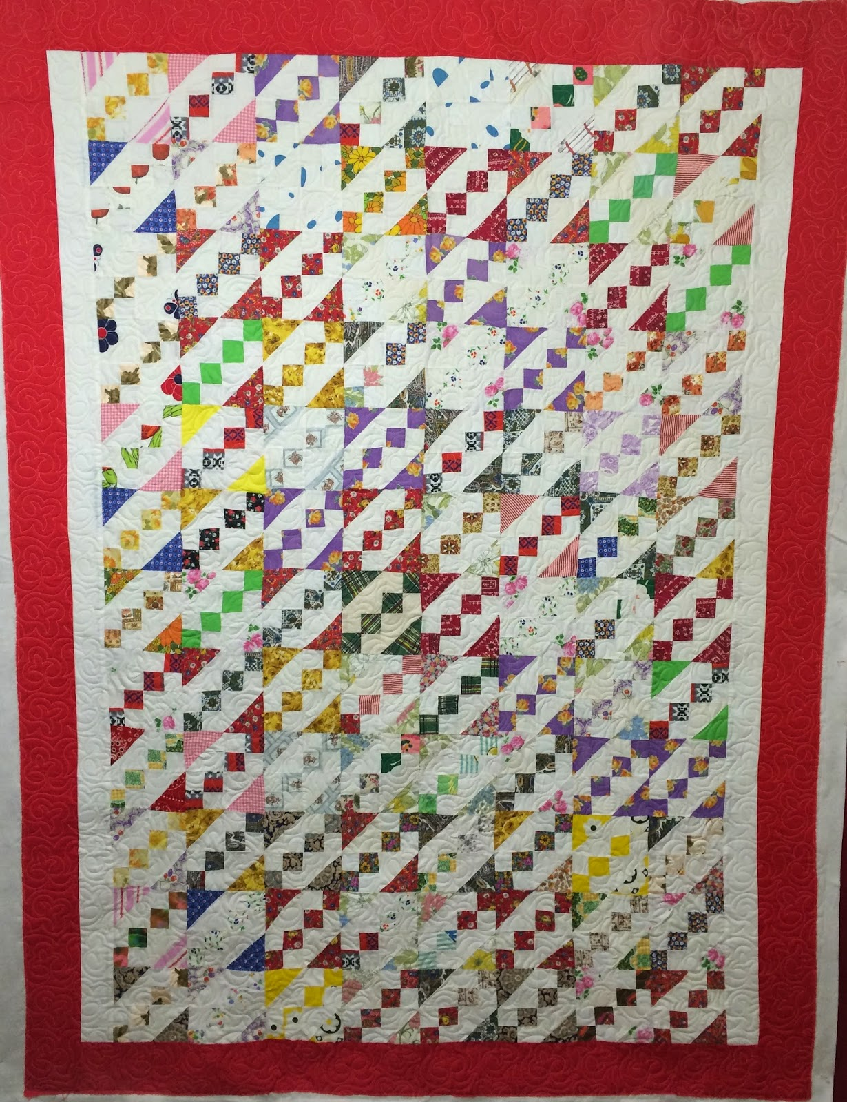 Sharon Lowther's Bow Tie Quilt