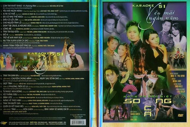 PBN Karaoke 51: Yêu Mãi Ngàn Năm (DVD9)