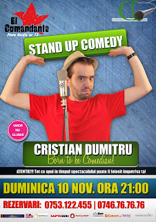 stand-up comedy duminica constanta
