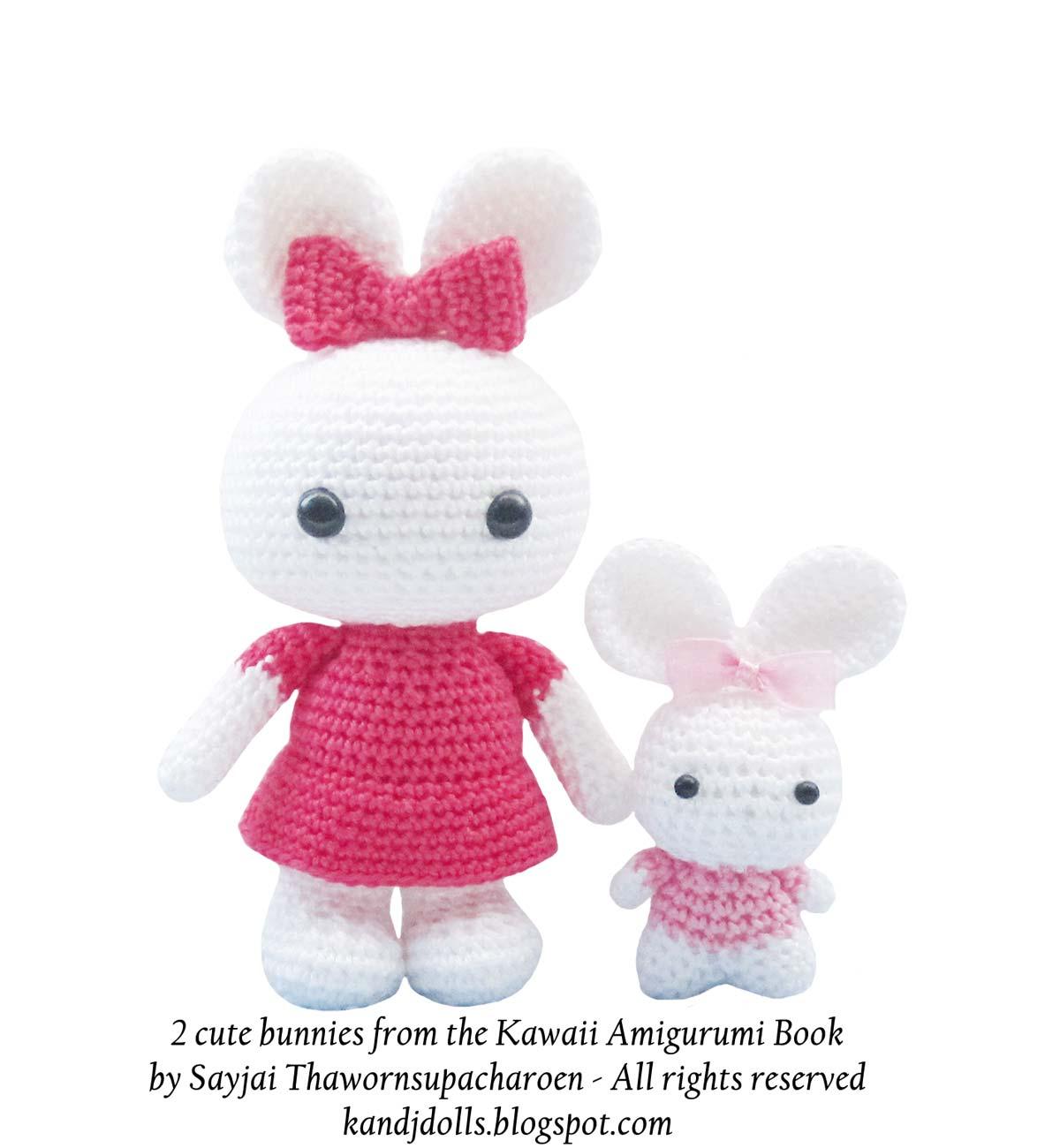 Kawaii Amigurumi Free Patterns : Kawaii Amigurumi - a brand new Pattern Book - Sayjai ...