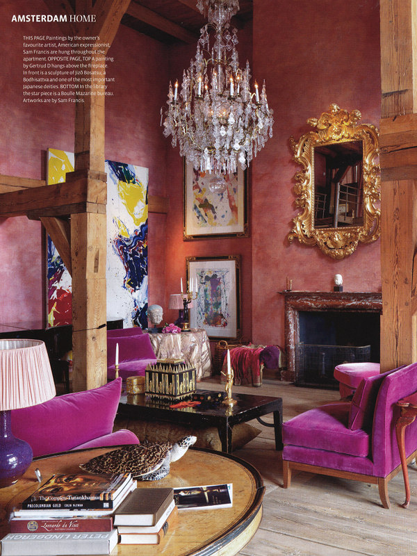 pink glam living room decor Decor Inspiration : Industrial Glamour | Cool Chic Style