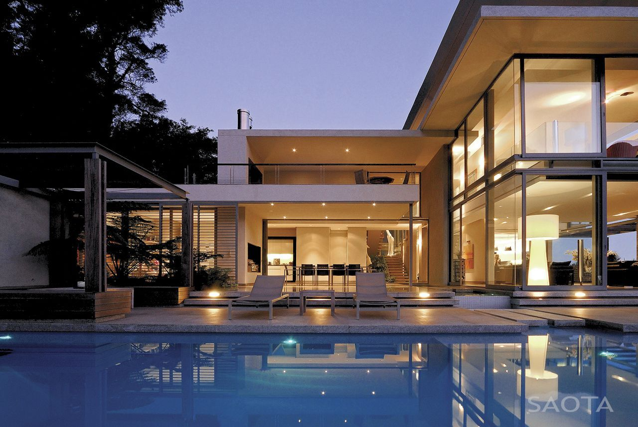 modern villa montrose house by saota cape town south africa