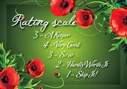 My Rating Scale!