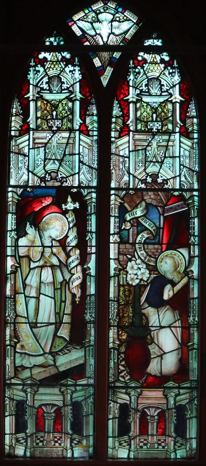 Stained Glass Windows of St Barnabas Church