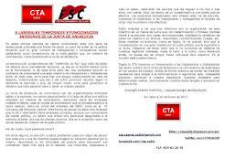 A LABORALES TEMPORALES Y FUNCIONARIOS INTERINOS DE LA JUNTA DE ANDALUCIA