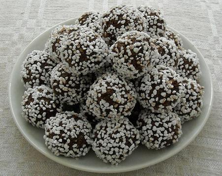 hur man bakar chokladbollar