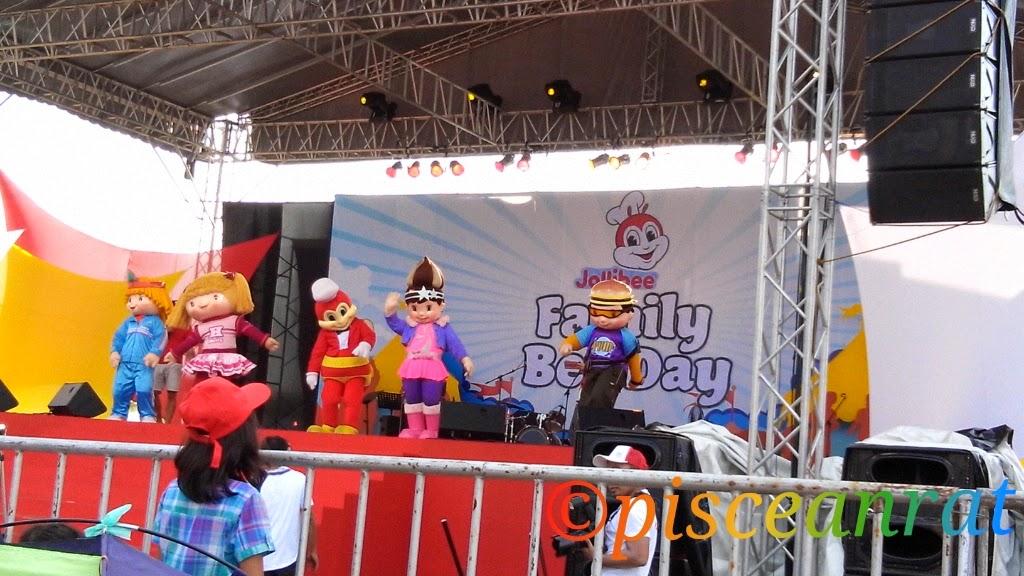 jollibee Mascots Popo, Hetty, Twirlie and Yum