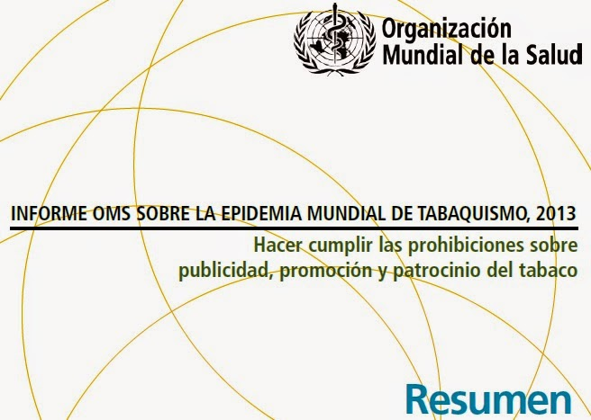 Informe OMS Tabaquismo 2013