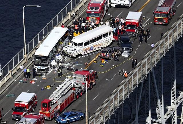Hiện trường vụ tai nạn - Bao giao thong