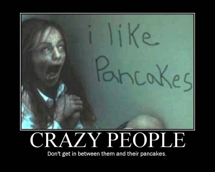 Those crazy people
