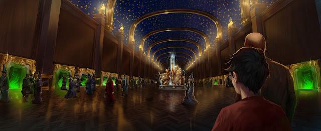 L'Atrium sotterraneo del Ministero della Magia