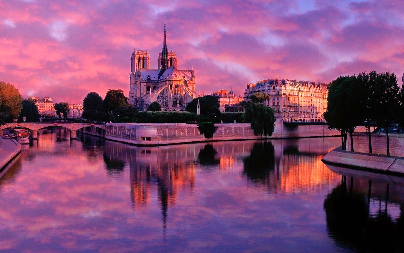 Place de la sorbonne les plus beaux couchers du soleil de paris - Coucher de soleil sur paris ...