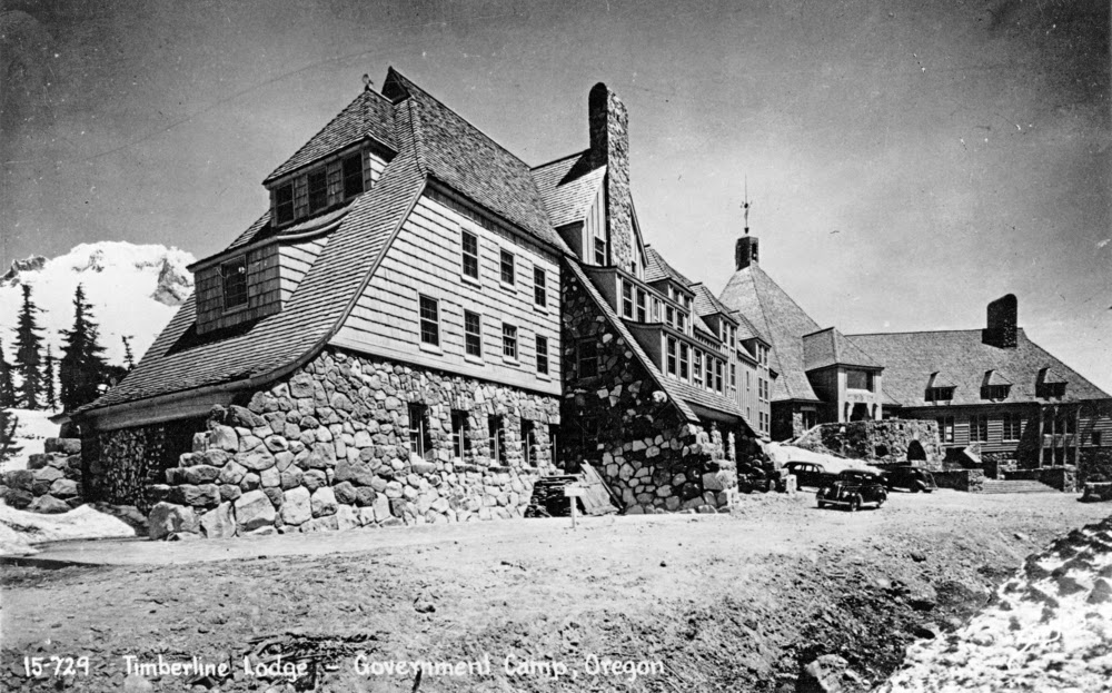 Starr review timberline lodge mt hood 39 s alpine lodge of art for The alpine lodge