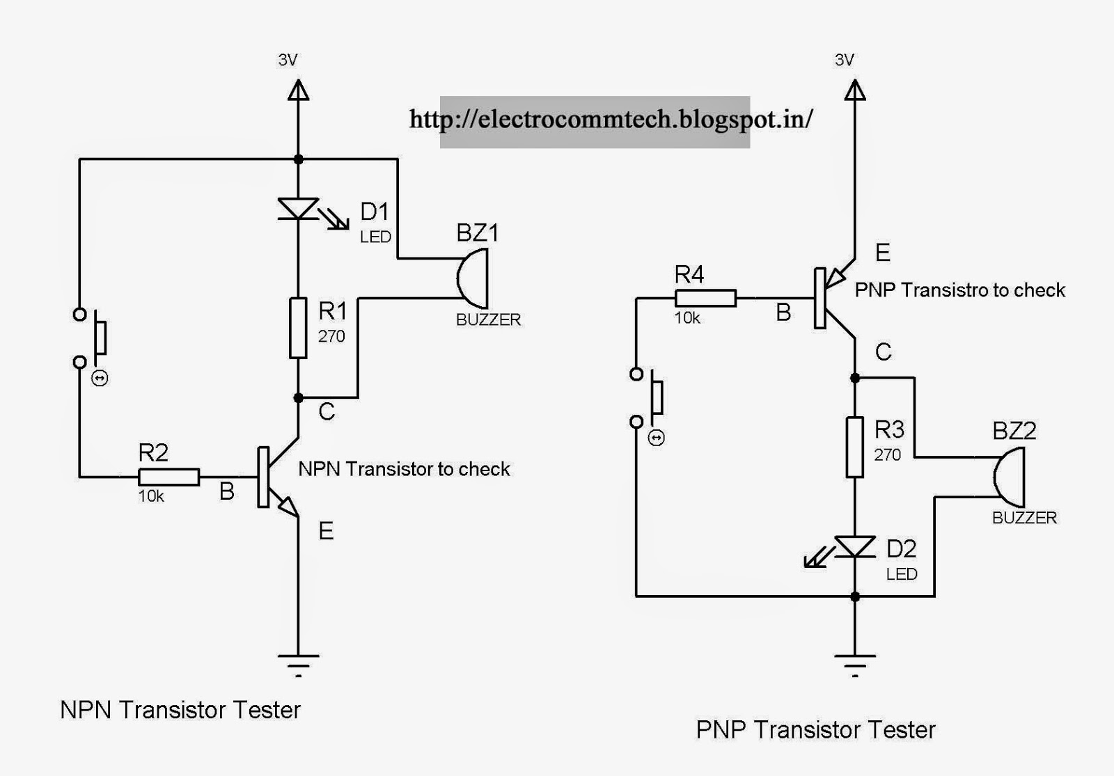 Easy Way To Test Transistor Is Working Or Not Electronics Transistoroscillatorcircuits Twotransistorsinewaveoscillator As You Know Can Also Work A Switchhere This Property Of Used Check The Transistorif We See Npn Testerthe