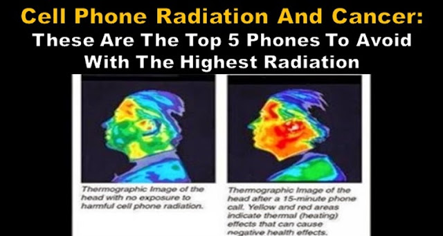 Top 5 Cell Phones With The Highest And Lowest Radiation