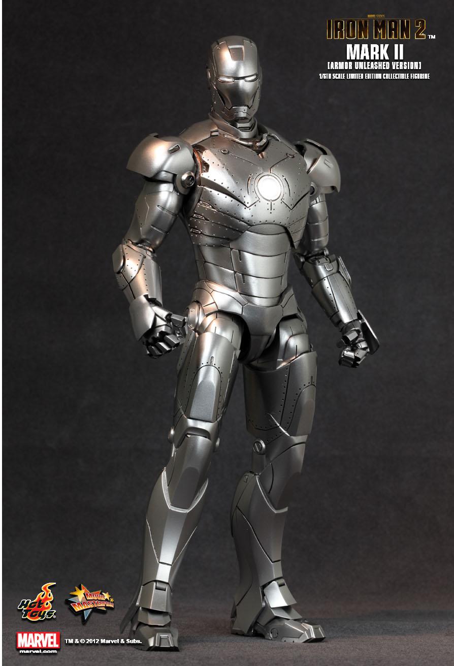 Hot Toys Iron Man Mark Ii 102