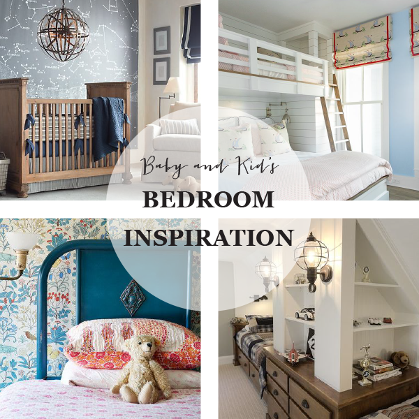 Baby and Kids Bedroom Inspiration on Pinterest