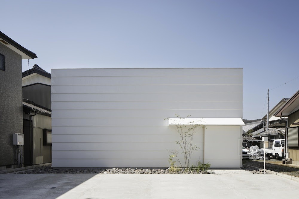Planos low cost casa con luz cenital house with for Casa cubo minimalista