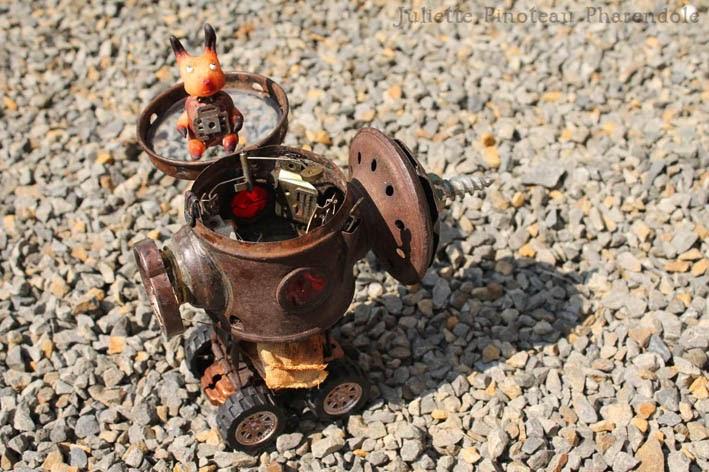 Montage et bricolage steampunk