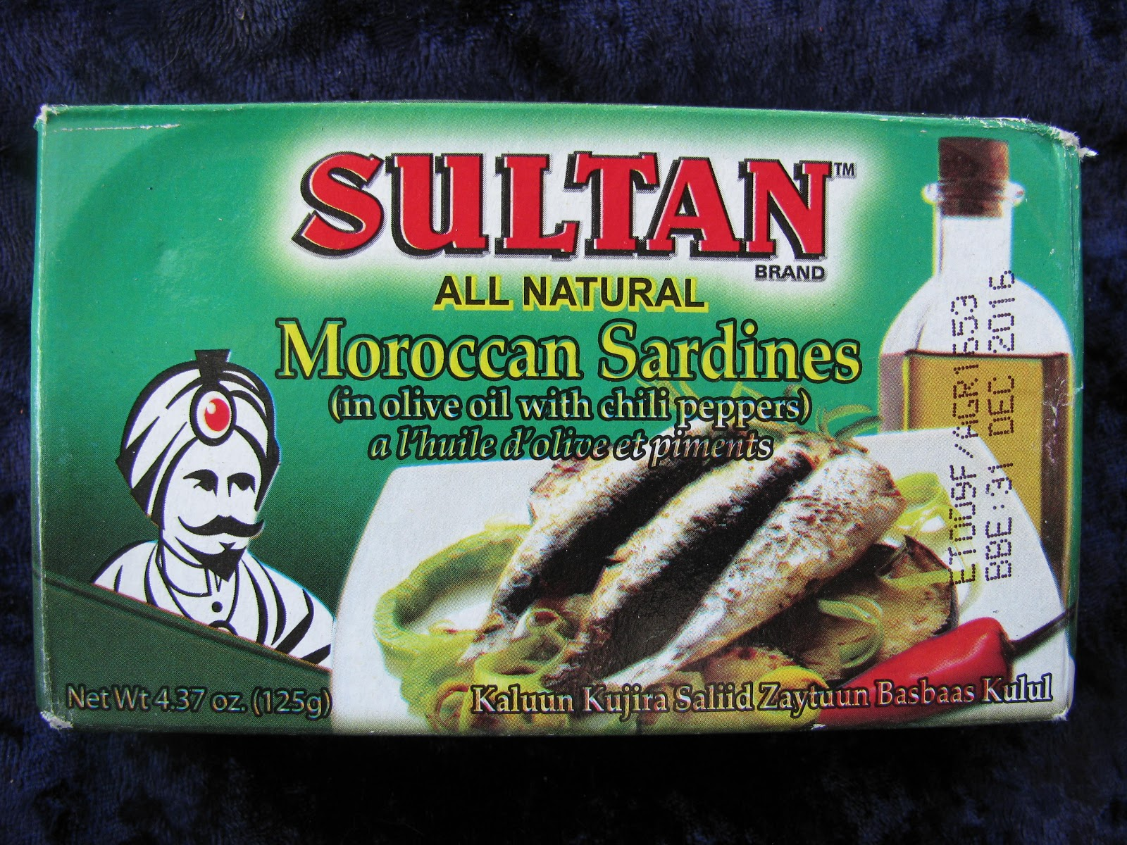Mouth Full of Sardines: SULTAN -84