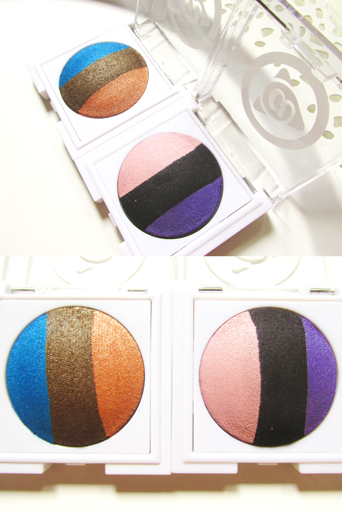 Review: Mary Kay at Play Baked Eye Trio Eyeshadow - 2g - 11.50 Euro - Out of the Blue - Purple Eclipse