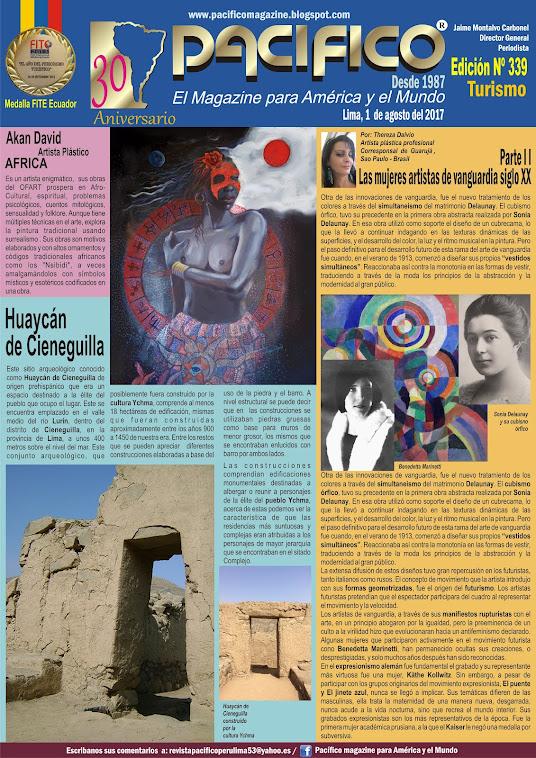 Revista Pacífico Nº 339 Turismo