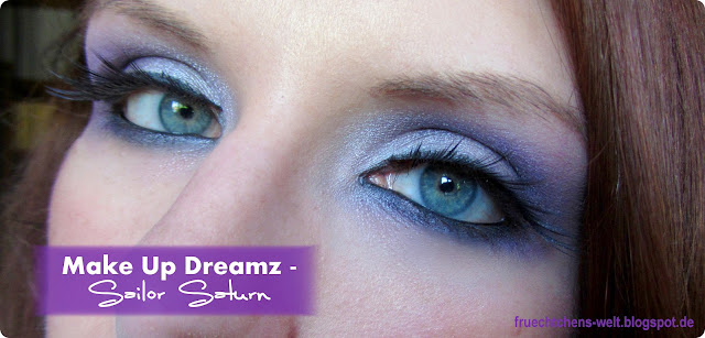 Sailor Saturn Inspired Make Up Look