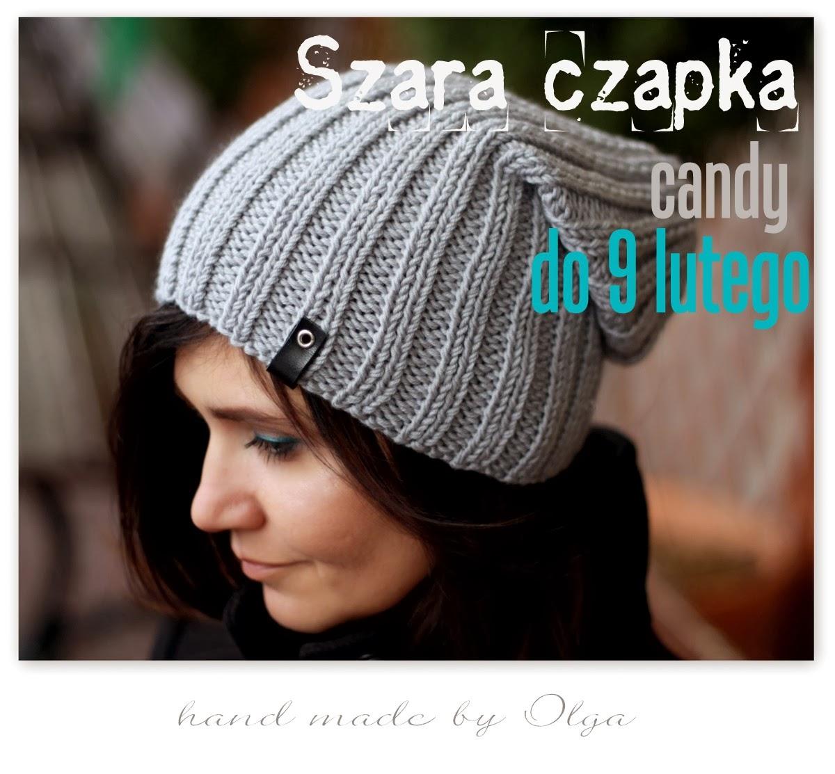 http://handmadebyolga.blogspot.com/2014/01/szara-czapka-rocznicowe-candy.html