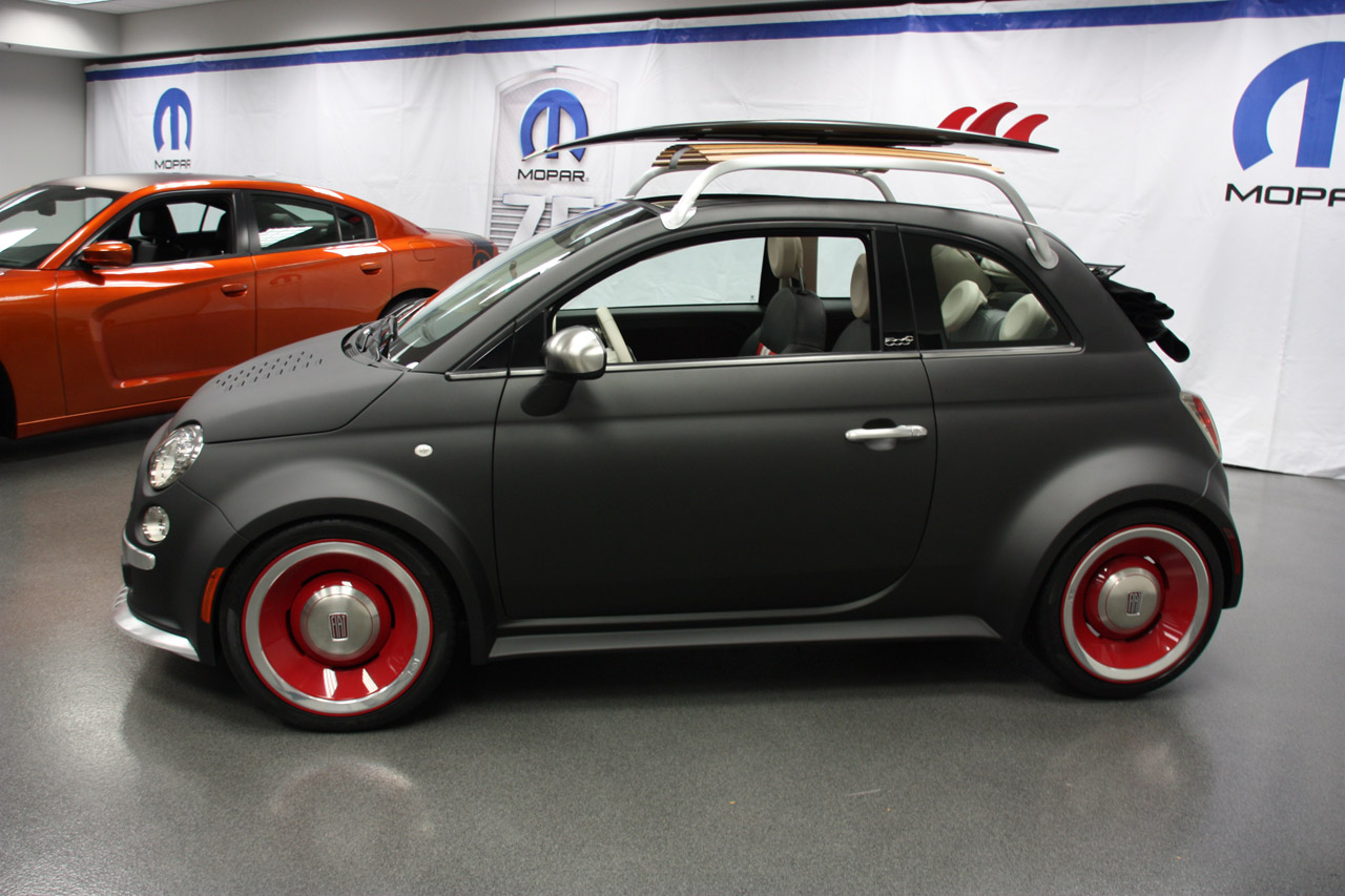 Ski Rack For Car >> Mopar Fiat 500 | SuperCAR original