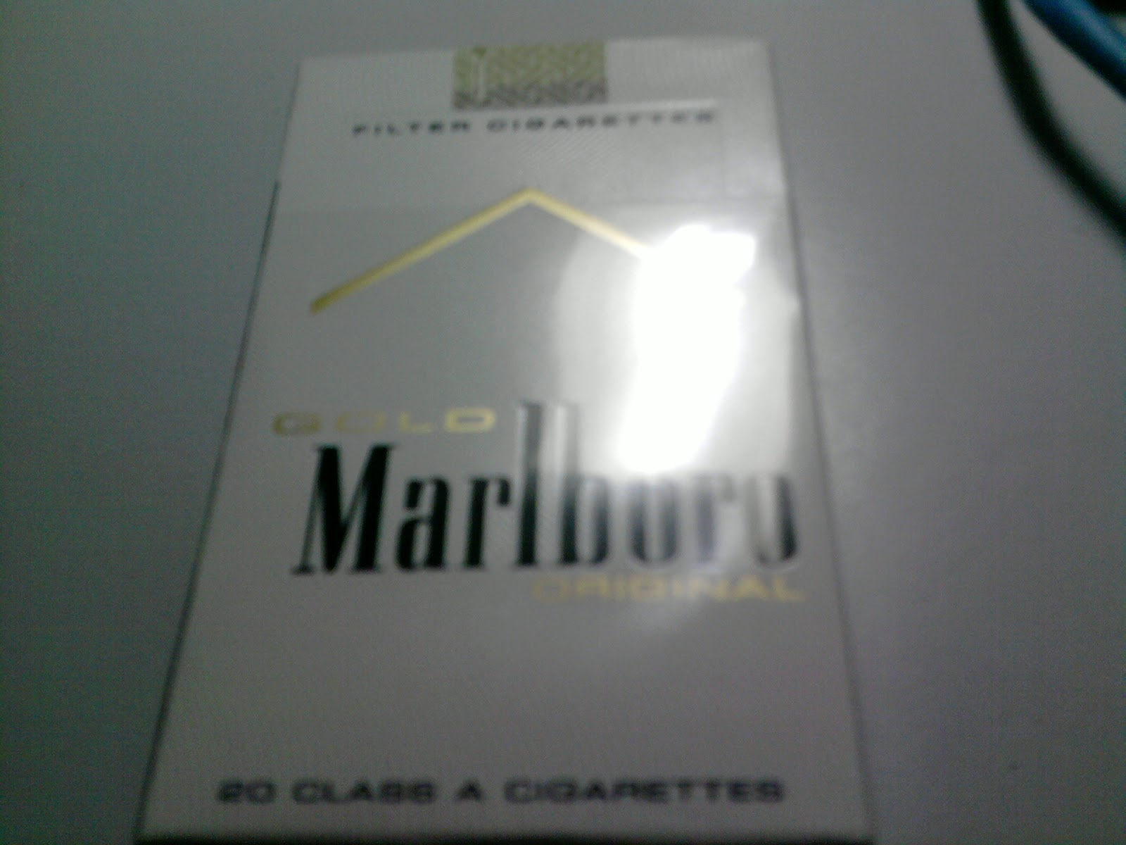 Lightest Marlboro cigarette
