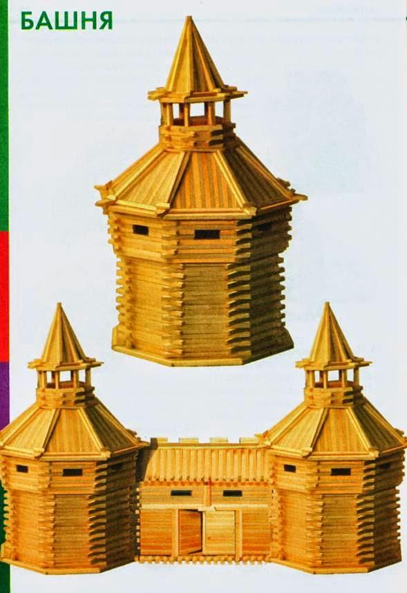 Как сделать башню