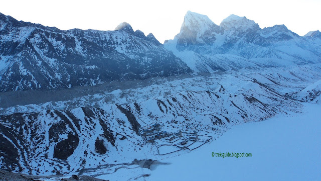 Gokyo and the biggest glacier
