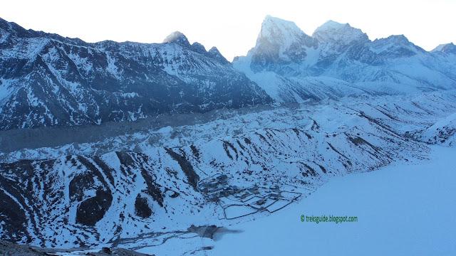 Gokyo and the biggest glacier