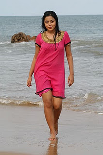 Poorna Beach Pic1 - Tamil Actress Poorna Hot Beach Wet Pics