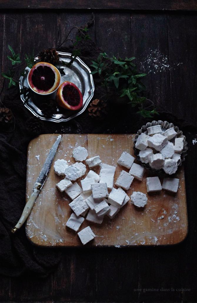 blood orange & clover honey marshmallows   une gamine dans la cuisine