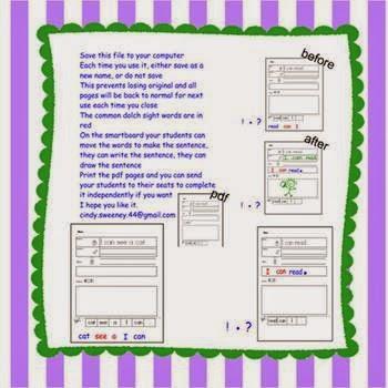 Read Write Draw Smartboard Style