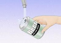 cara memperkuat sinyal modem sederhana dengan memanfaatkan kaleng bekas soft drink