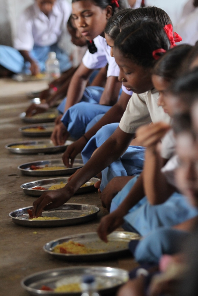 Mid-day meal in chhattisgarh